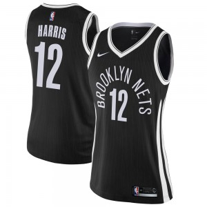 Nike Brooklyn Nets Swingman Black Joe Harris Jersey - City Edition - Women's